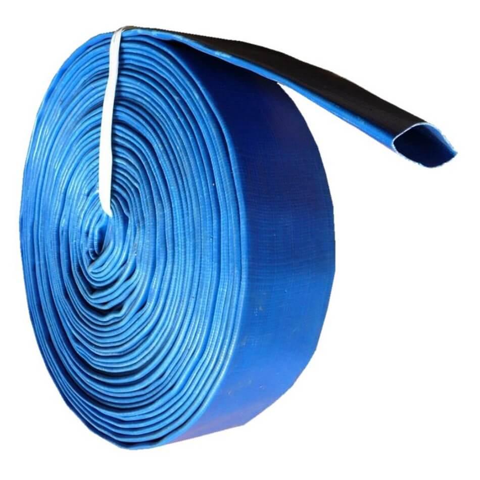 Blue Flat Hose
