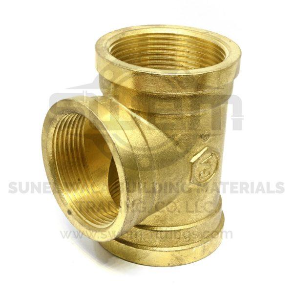 Equal Tee Brass